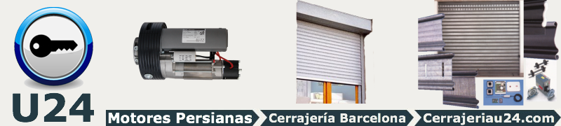 Motores de persianas barcelona cerrajer a u24 - Motores para persianas domesticas ...